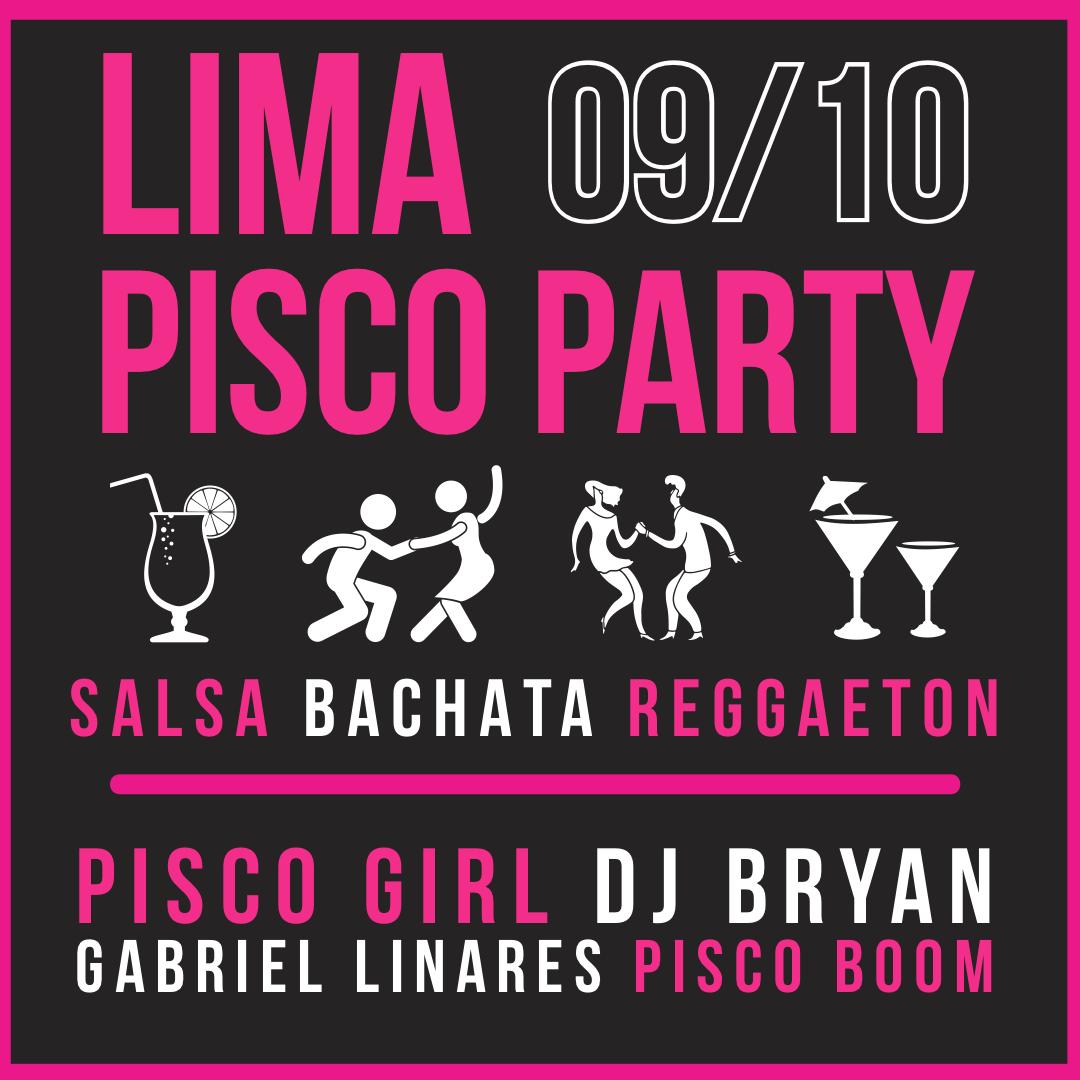 Lima Pisco Party